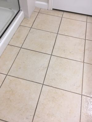 Before & After Tile & Grout Cleaning in Jacksonville, FL (1)