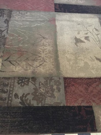Before & After Area Rug Cleaning