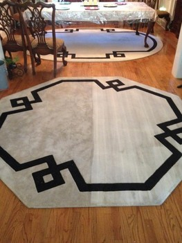 Area Rug (Before & After) Cleaning Services Jacksonville, FL
