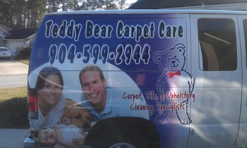 Check out our new van! Call us today for any of your carpet, upholstery, or tile cleaning needs in Jacksonville, FL!